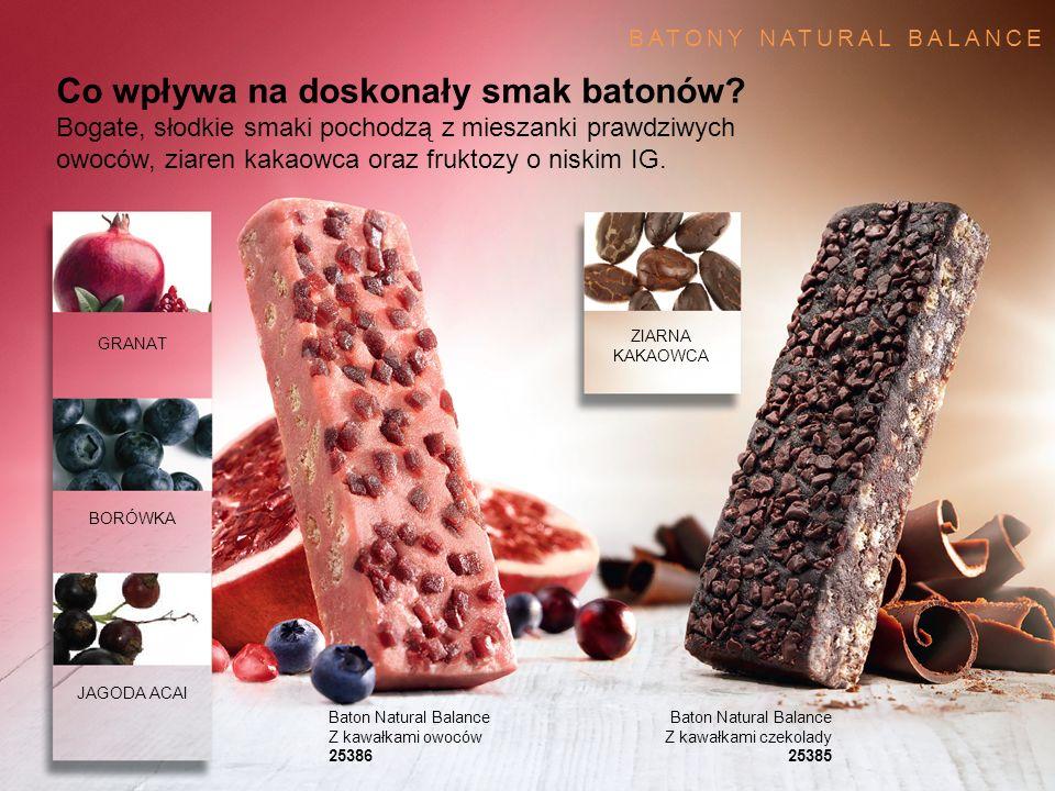 Co wpływa na doskonały smak batonów