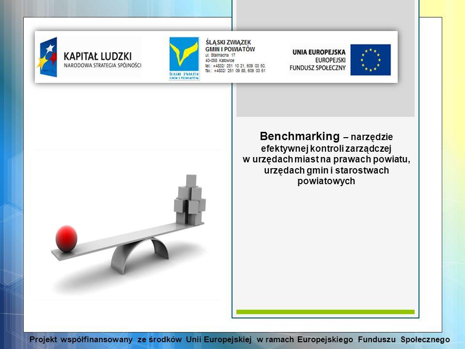 Benchmarking – narzędzie efektywnej kontroli zarządczej