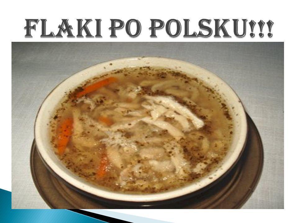 Flaki po polsku!!!