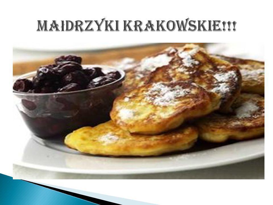 Małdrzyki krakowskie!!!