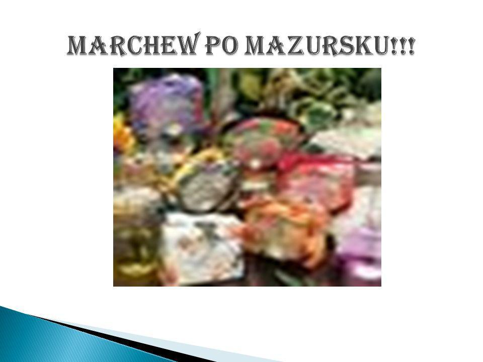 Marchew po mazursku!!!
