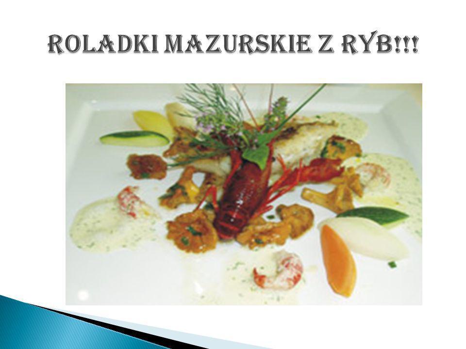 Roladki mazurskie z ryb!!!