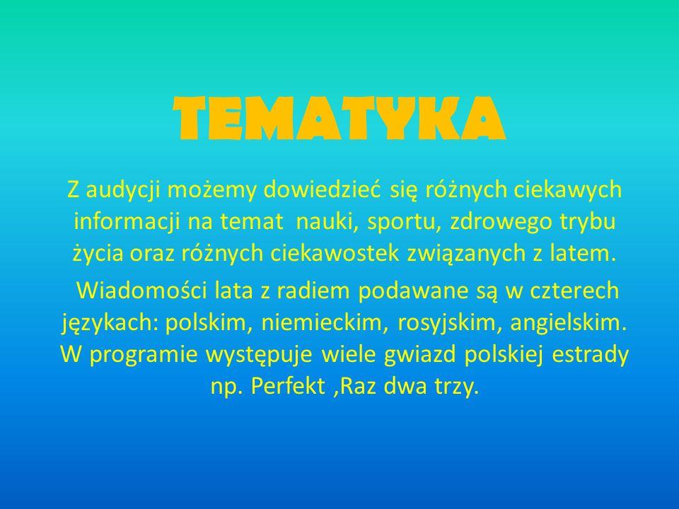 TEMATYKA