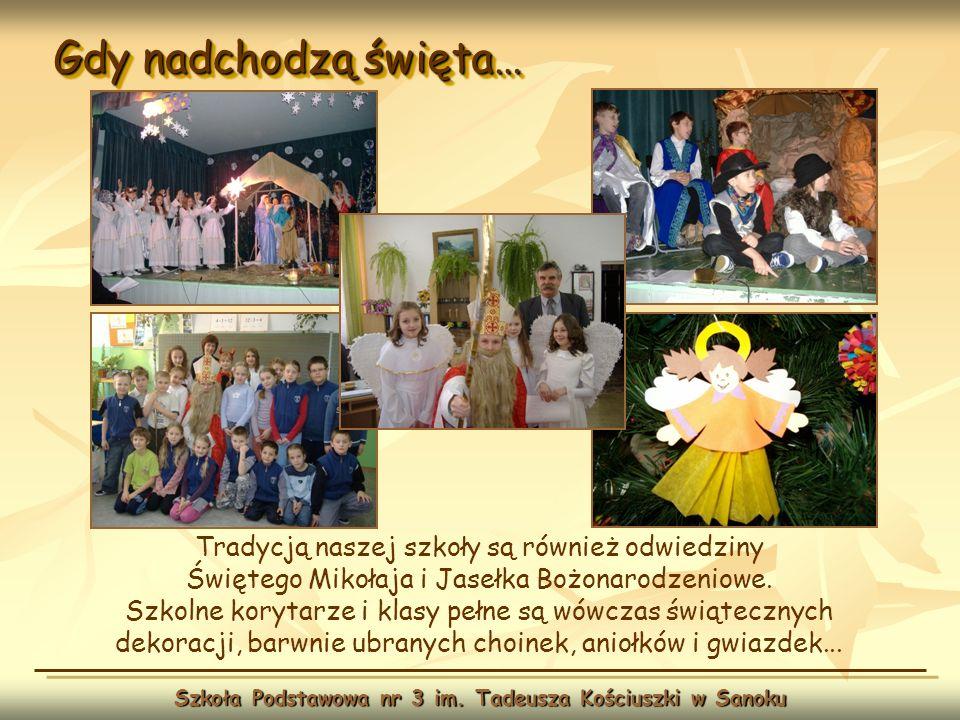 Szkoła Podstawowa nr 3 im. Tadeusza Kościuszki w Sanoku