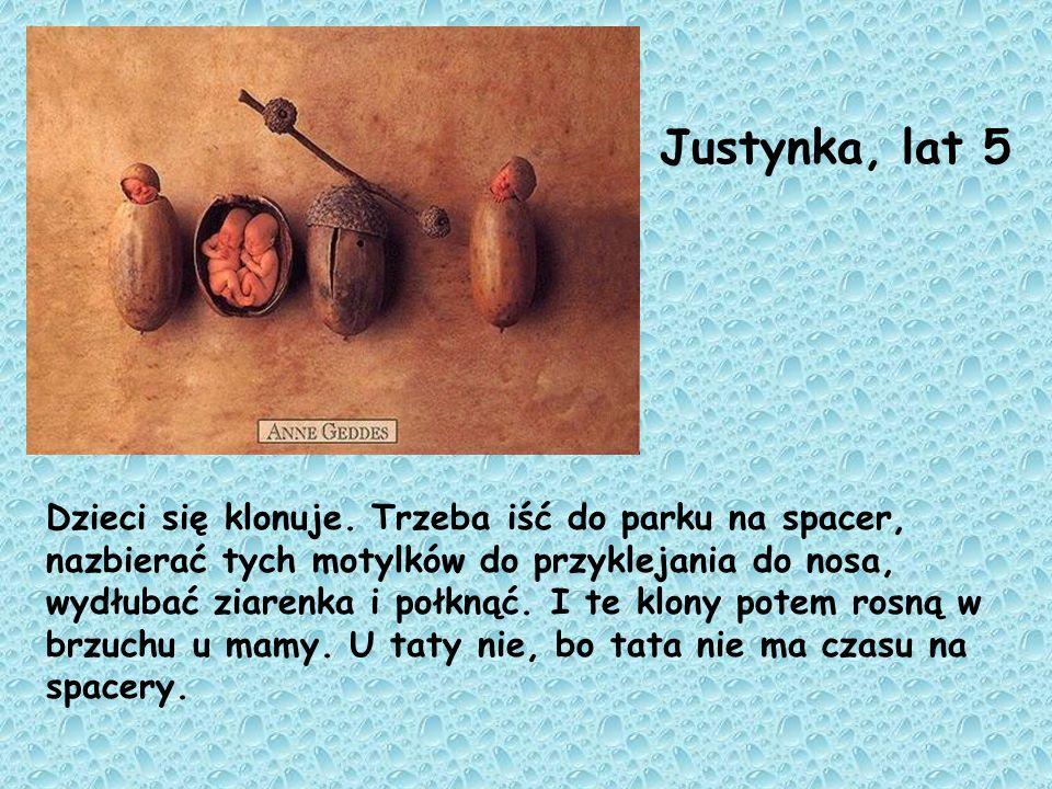 Justynka, lat 5