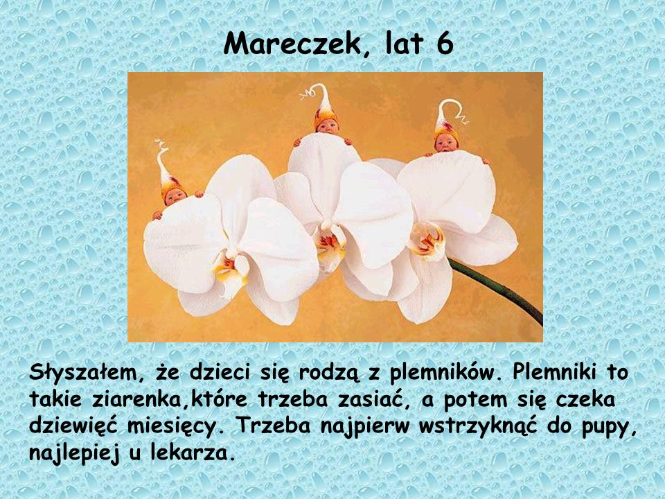 Mareczek, lat 6
