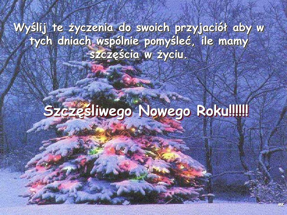 Szczęśliwego Nowego Roku!!!!!!