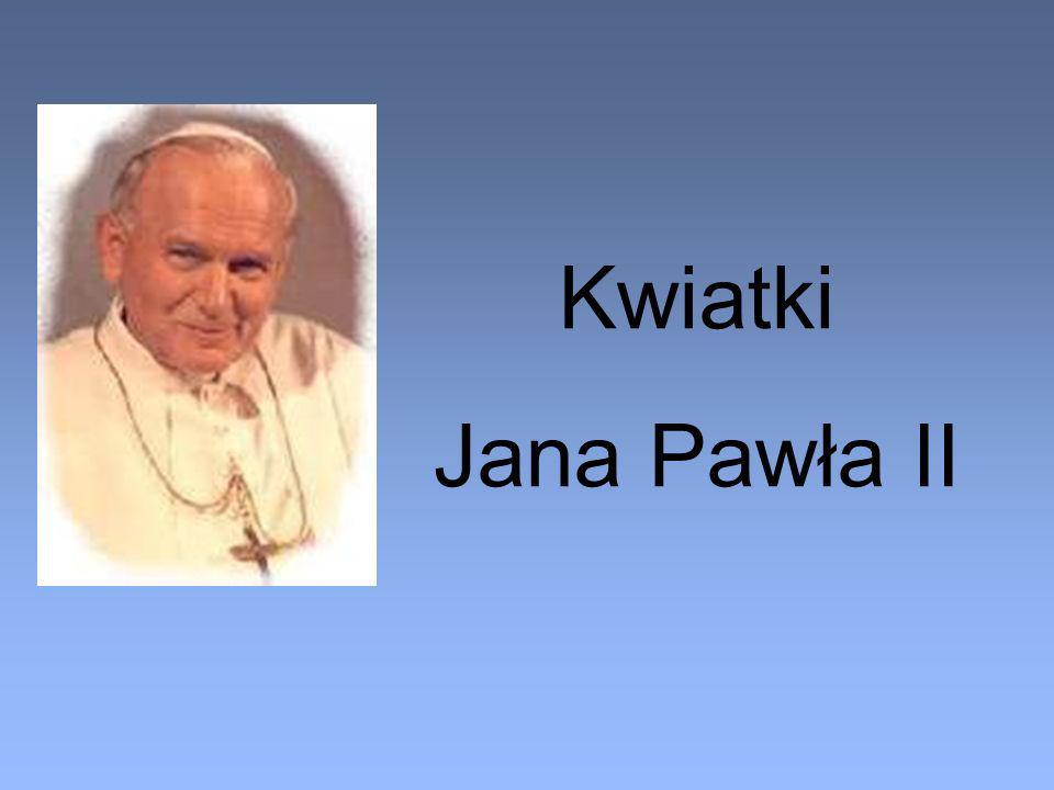 Kwiatki Jana Pawła II
