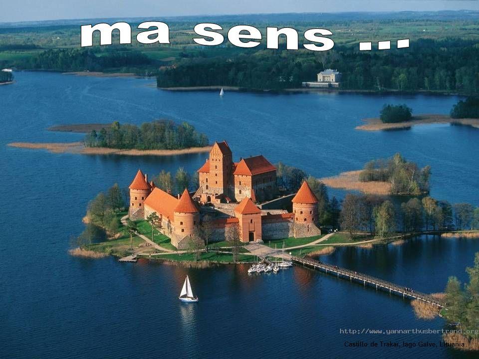 ma sens ... Castillo de Trakaï, lago Galve, Lituania