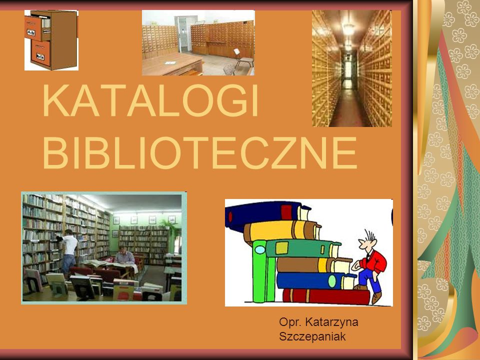 KATALOGI BIBLIOTECZNE