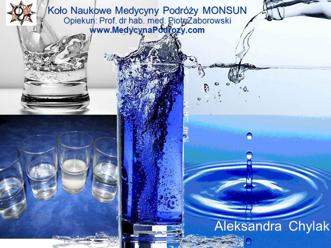 = Koło Naukowe Medycyny Podróży MONSUN Opiekun: Prof. dr hab. med. Piotr Zaborowski www.MedycynaPodrozy.com.