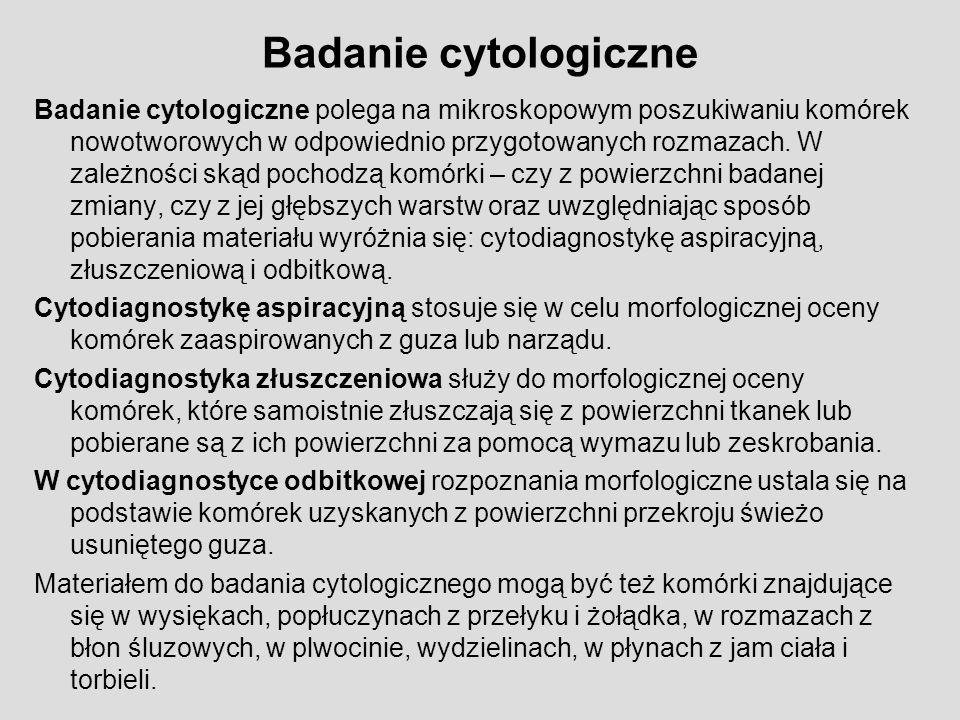 Badanie cytologiczne