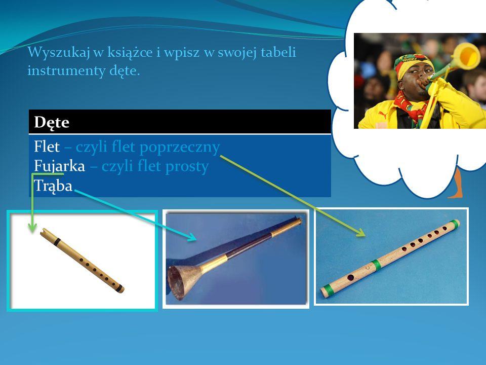 Jaki jest współczesny instrument podobny do egipskiej trąby