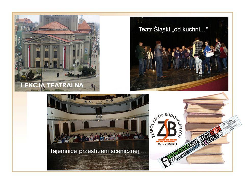 """Teatr Śląski """"od kuchni…"""