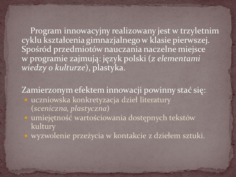 Zamierzonym efektem innowacji powinny stać się: