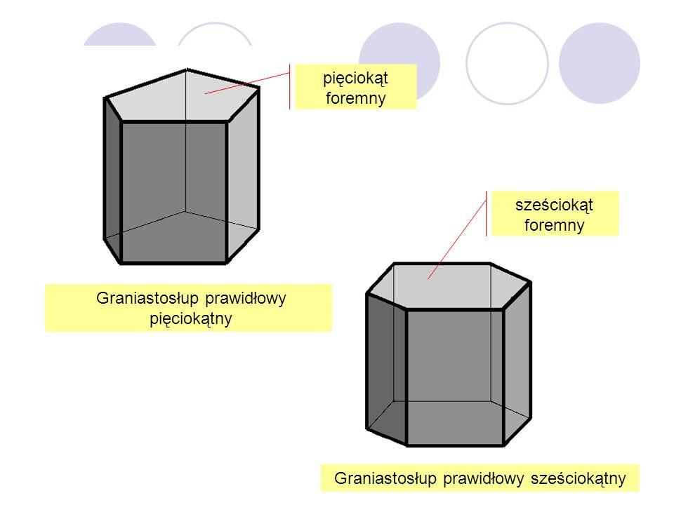 Graniastosłup prawidłowy pięciokątny