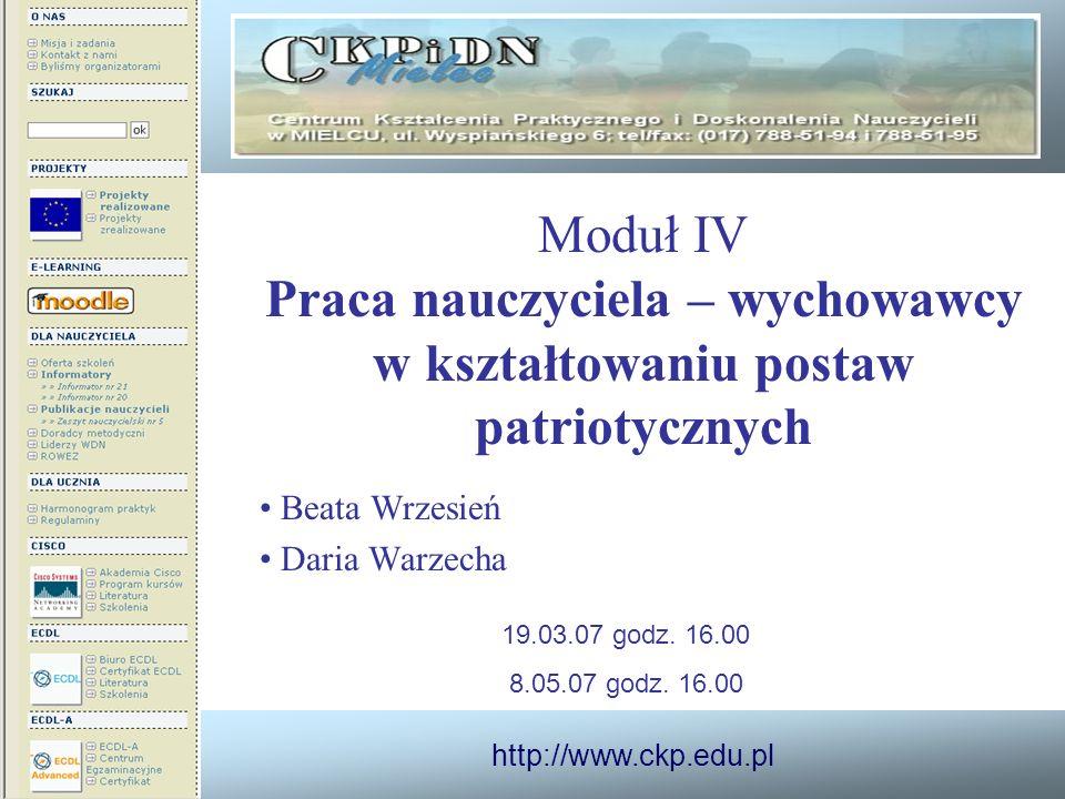 Beata Wrzesień Daria Warzecha