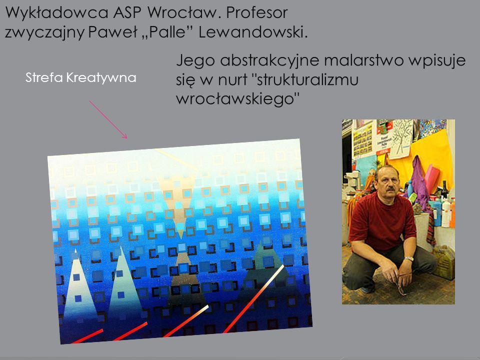 """Wykładowca ASP Wrocław. Profesor zwyczajny Paweł """"Palle Lewandowski."""