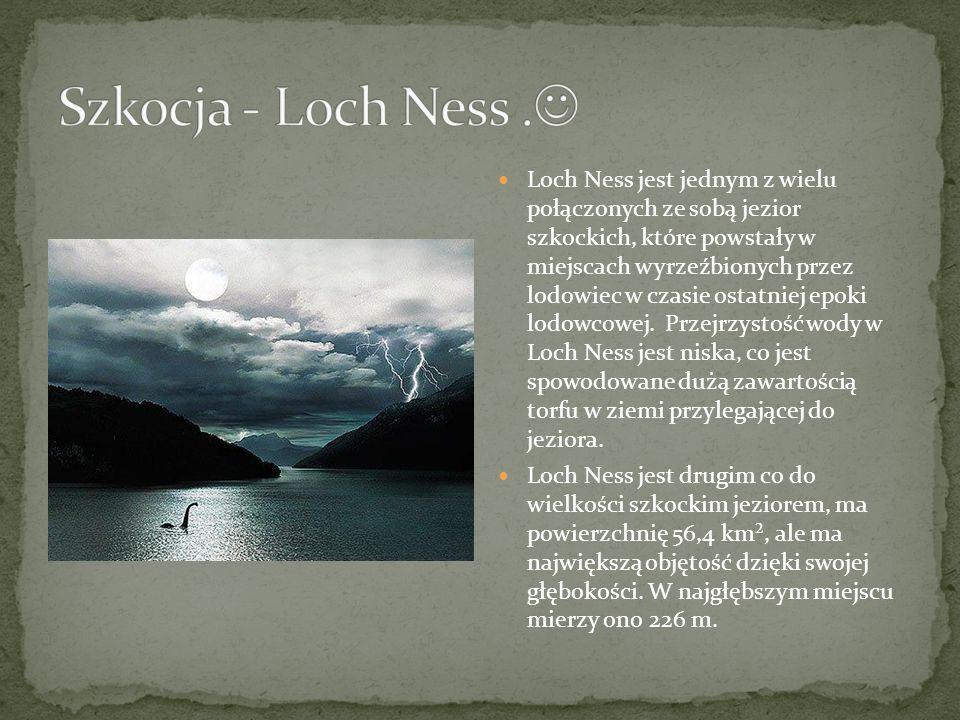 Szkocja - Loch Ness .