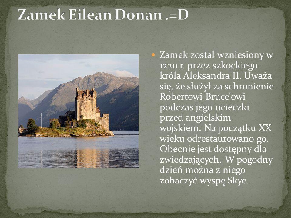 Zamek Eilean Donan .=D