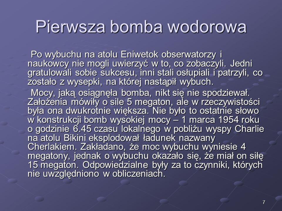 Pierwsza bomba wodorowa