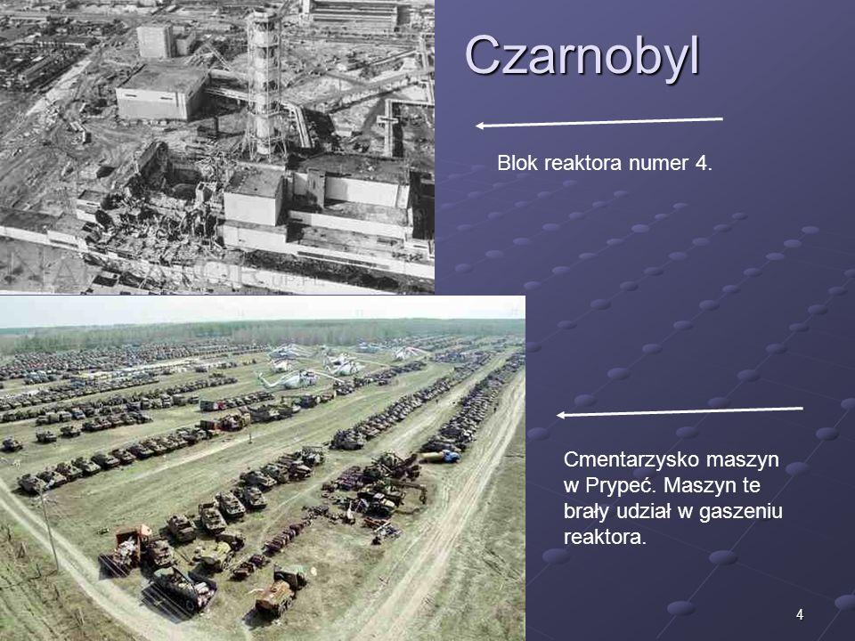 Czarnobyl Blok reaktora numer 4.