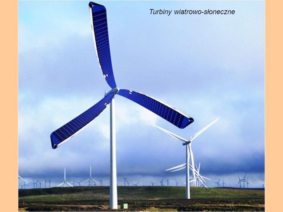 Turbiny wiatrowo-słoneczne