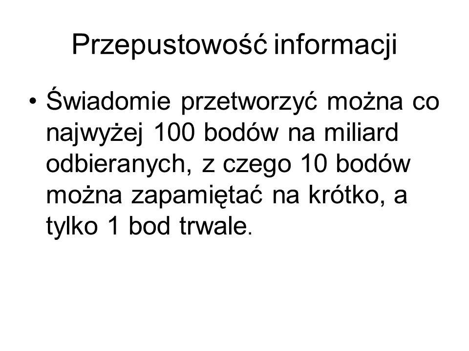 Przepustowość informacji