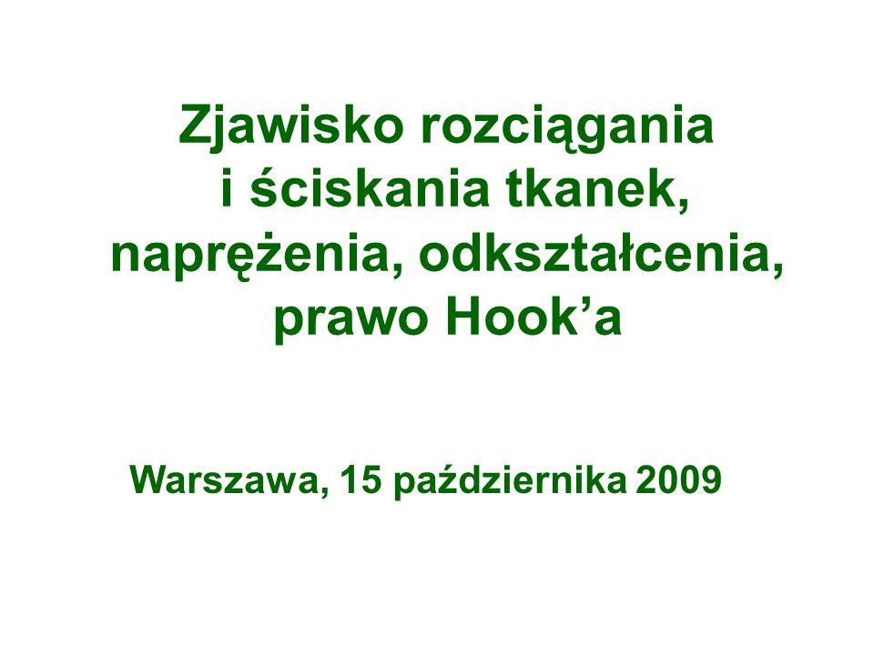 Warszawa, 15 października 2009