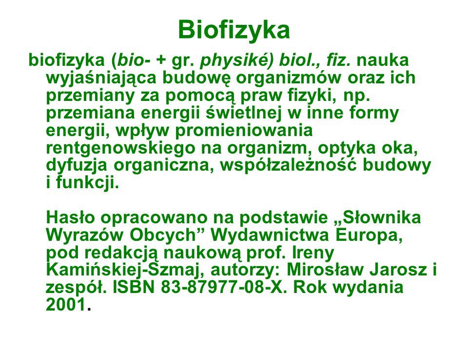 Biofizyka