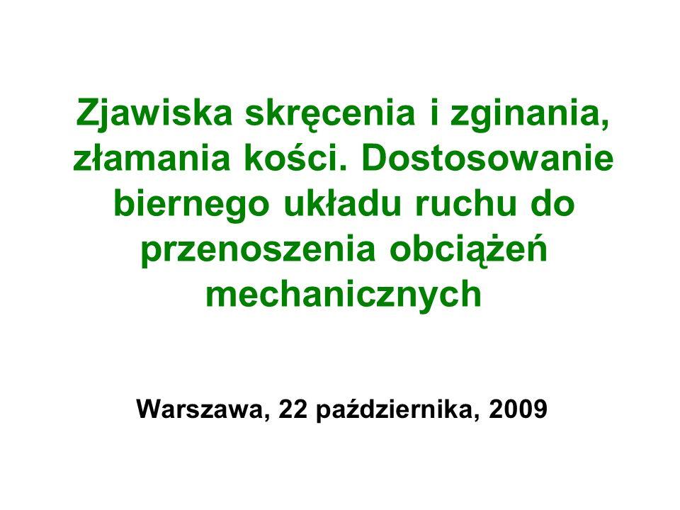 Warszawa, 22 października, 2009
