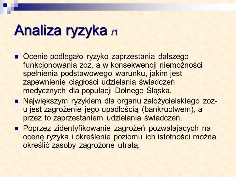 Analiza ryzyka /1