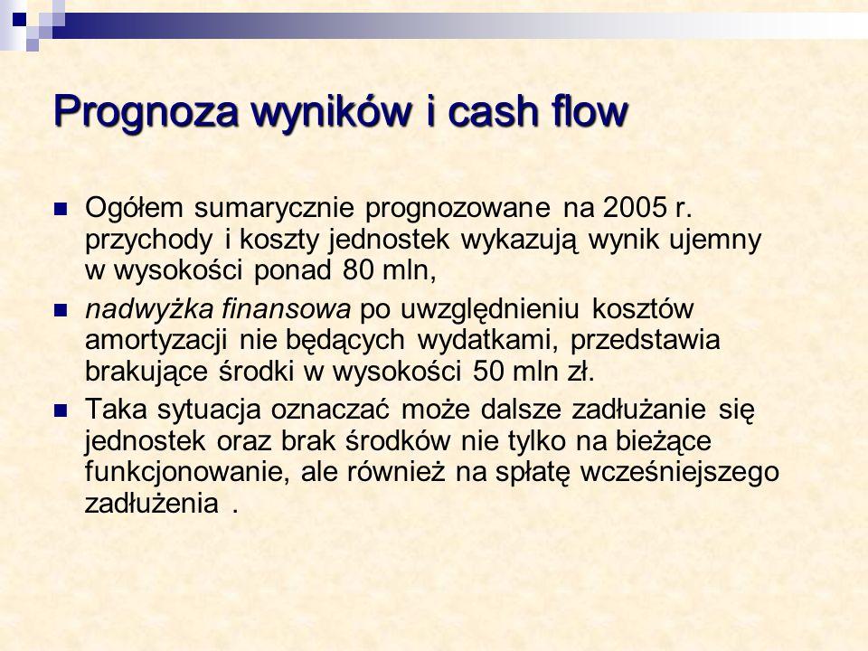 Prognoza wyników i cash flow