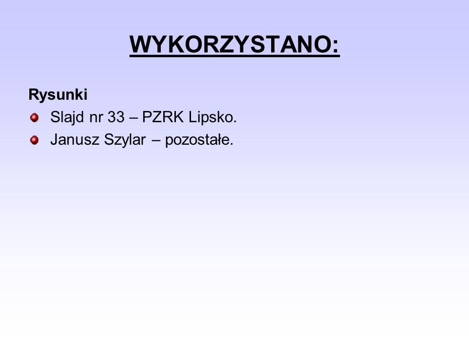 WYKORZYSTANO: Rysunki Slajd nr 33 – PZRK Lipsko.
