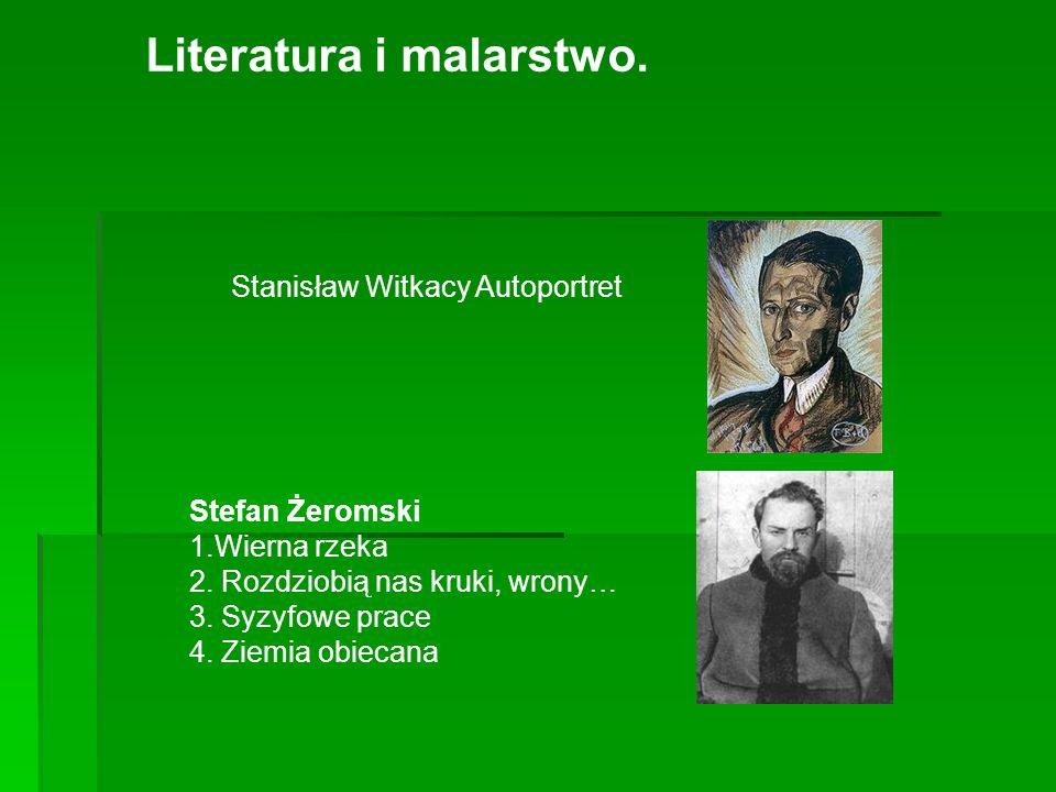 Literatura i malarstwo.