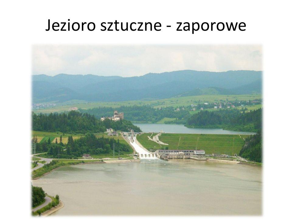 Jezioro sztuczne - zaporowe