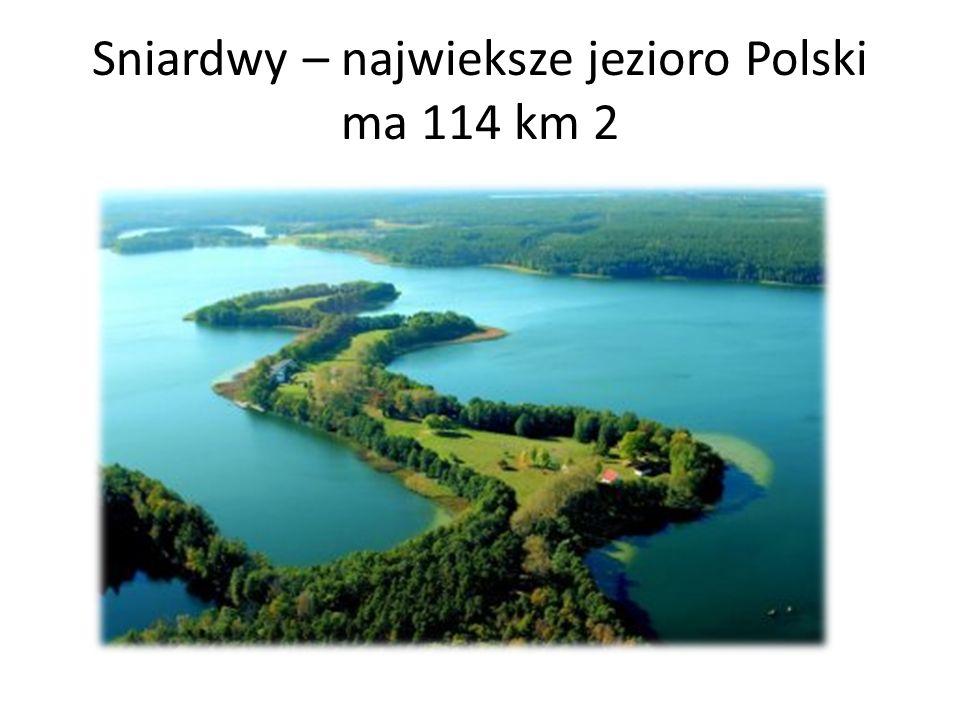 Sniardwy – najwieksze jezioro Polski ma 114 km 2