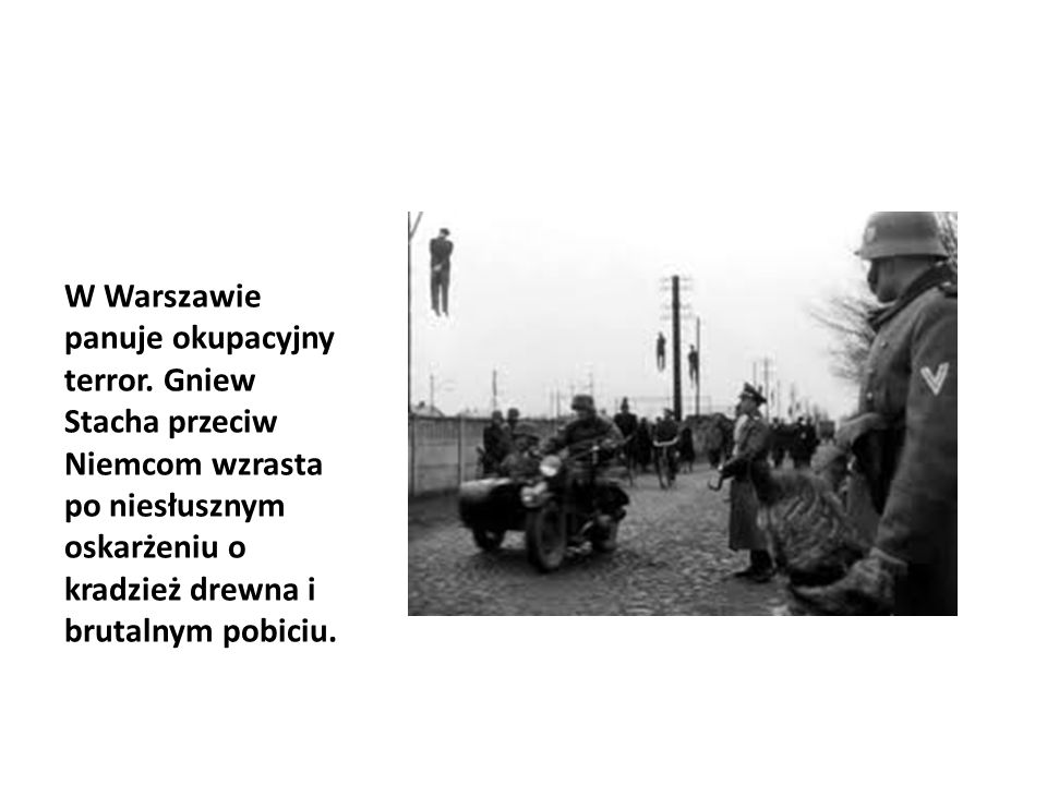 W Warszawie panuje okupacyjny terror