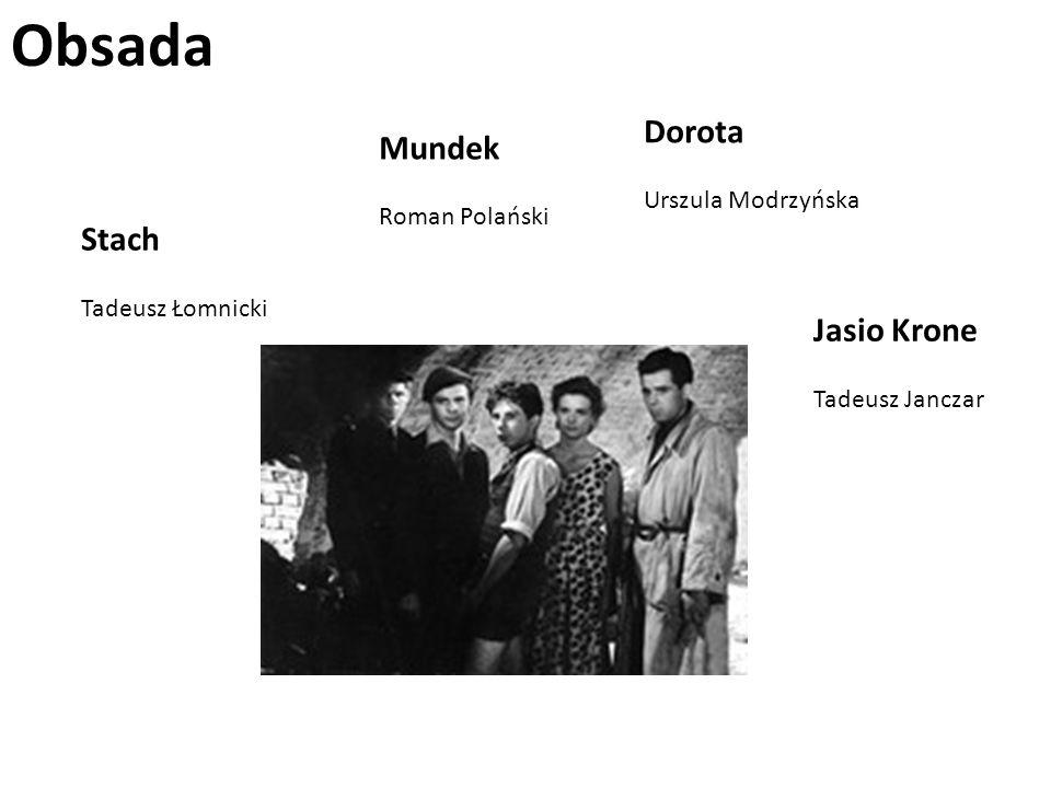 Obsada Dorota Mundek Stach Jasio Krone Urszula Modrzyńska