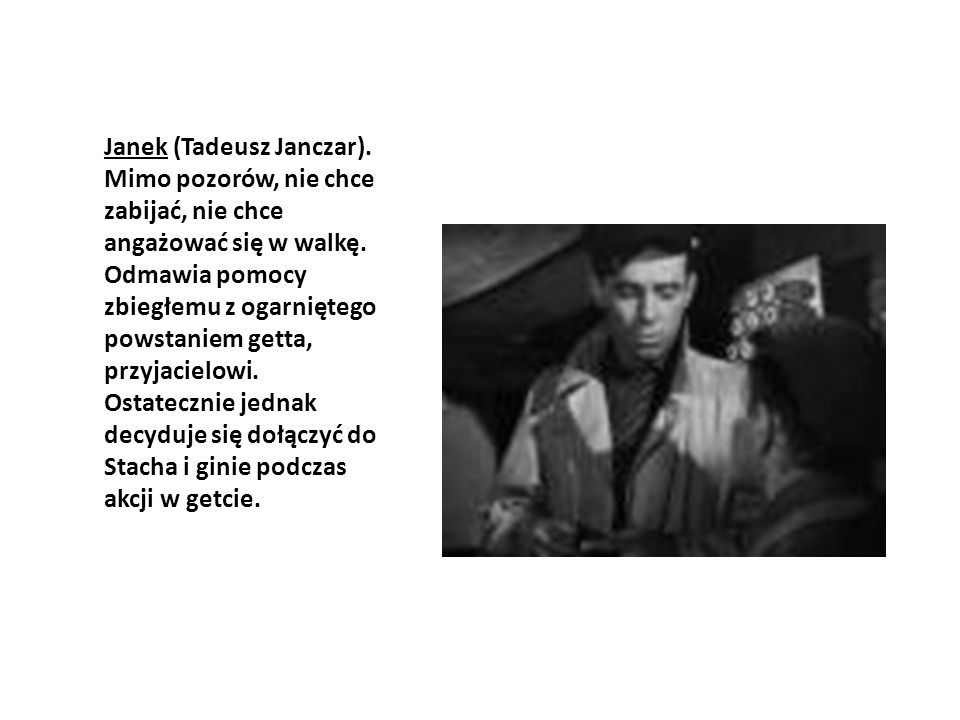 Janek (Tadeusz Janczar)