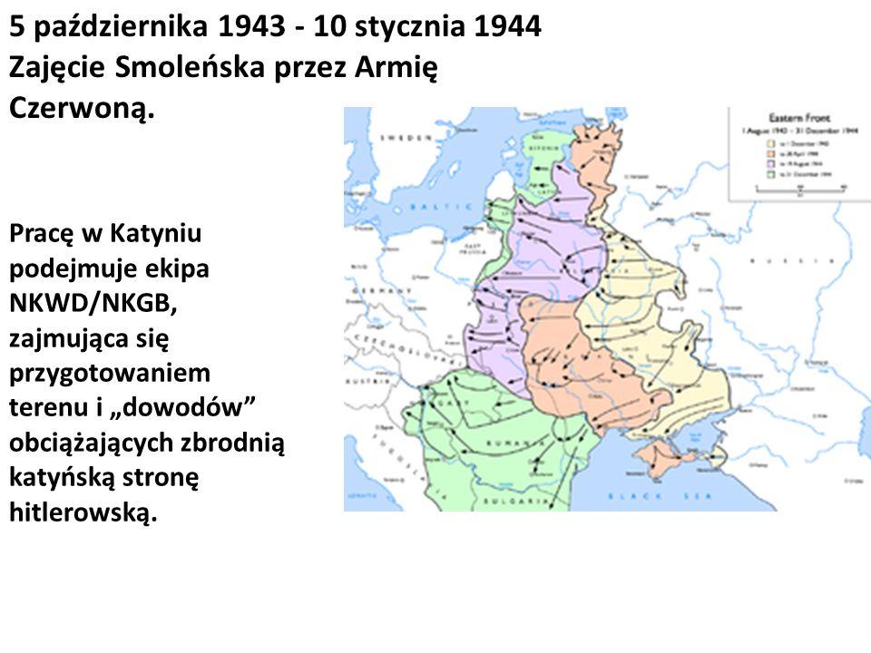 5 października 1943 - 10 stycznia 1944