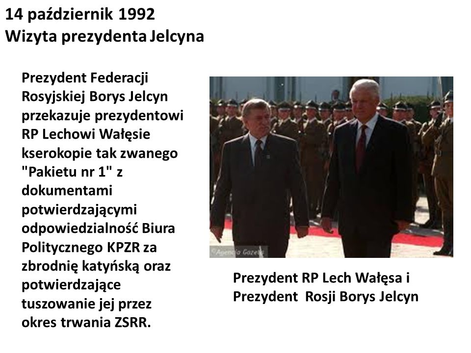 Wizyta prezydenta Jelcyna