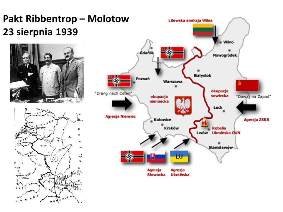Pakt Ribbentrop – Molotow 23 sierpnia 1939