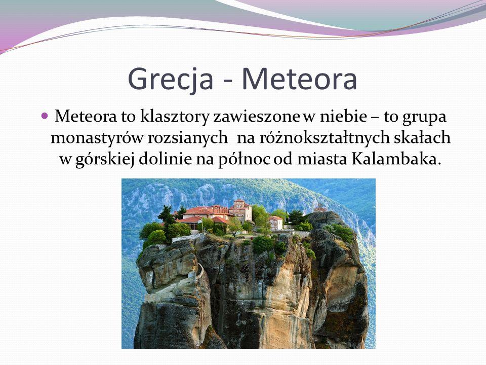 Grecja - Meteora
