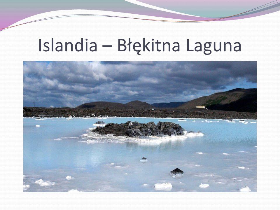Islandia – Błękitna Laguna