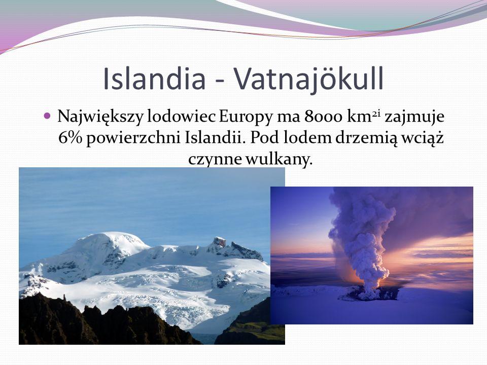 Islandia - Vatnajökull