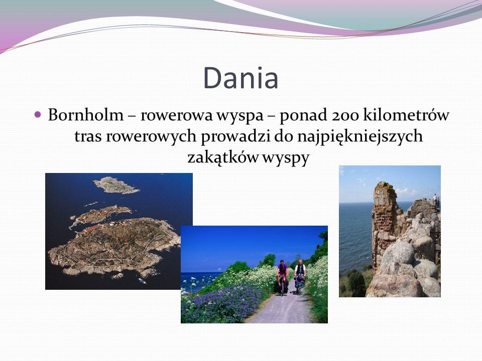 Dania Bornholm – rowerowa wyspa – ponad 200 kilometrów tras rowerowych prowadzi do najpiękniejszych zakątków wyspy.