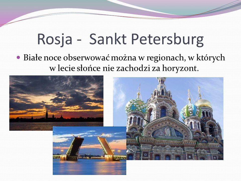 Rosja - Sankt Petersburg