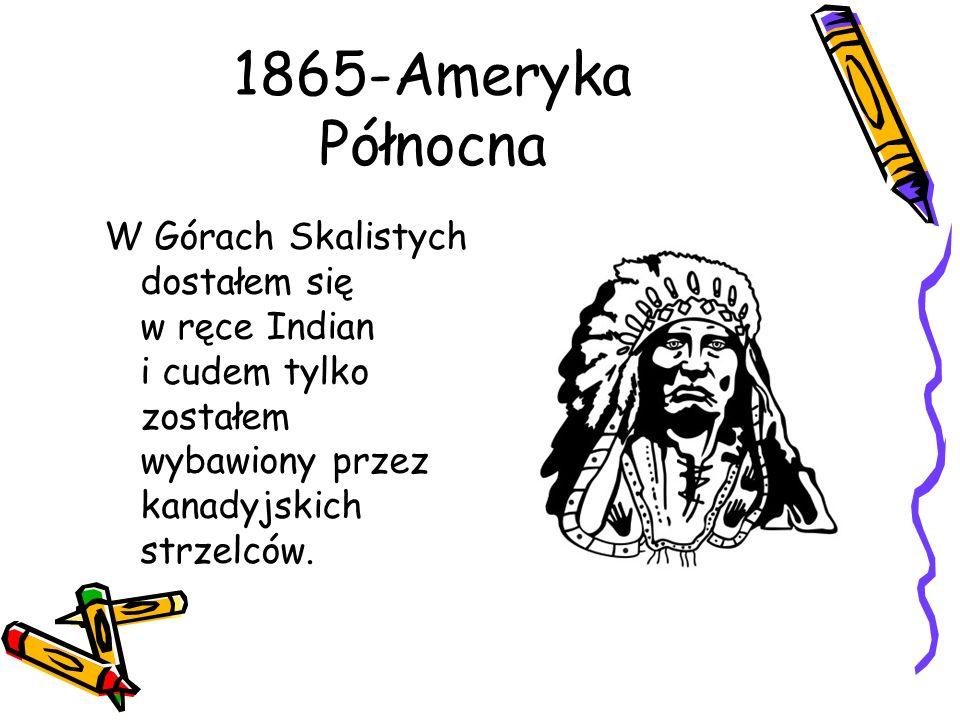 1865-Ameryka Północna