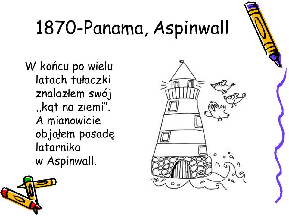 1870-Panama, Aspinwall